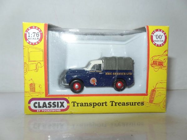 Classix EM76653 1/76 OO Scale Morris Minor 1000 Pick Up BMC Service Cowley Oxfor